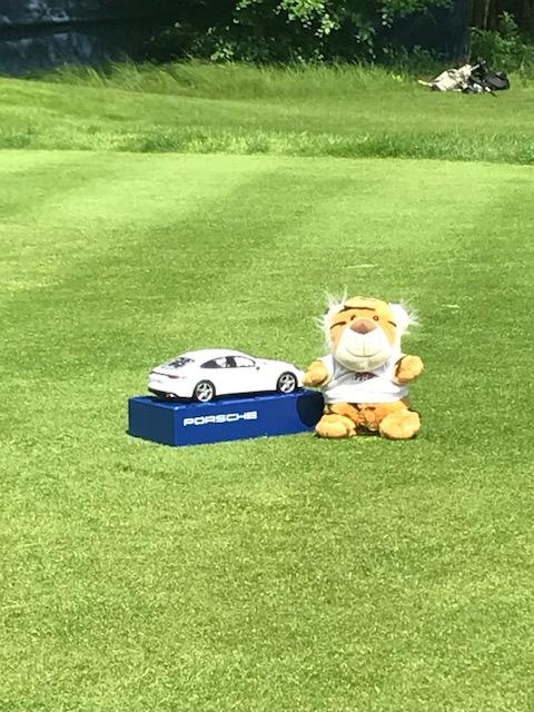 Herr Tiger besucht Porsche Open
