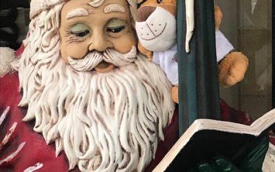 Herr Tiger wünscht frohe Weihnachten